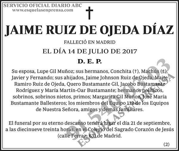 Jaime Ruiz de Ojeda Díaz